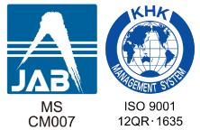 JAB CM007 ISO9001